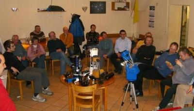 Spiegelschleif- und Teleskopbau-Gruppe